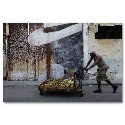 Αφίσα (Κούβα, φρούτα)
